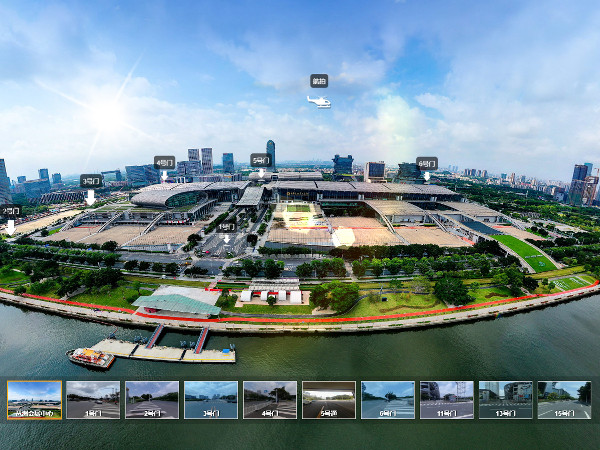 VR全景园区--广交会展馆