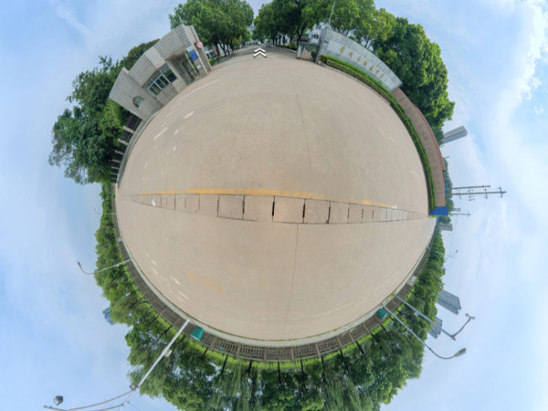 VR全景教育--新桥高级中学