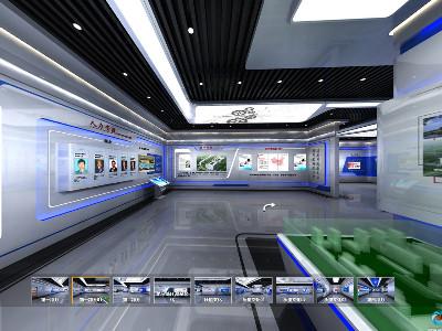 VR全景展厅--电子五所