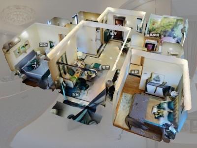 3D全景展示案例--曦湾邸销售中心